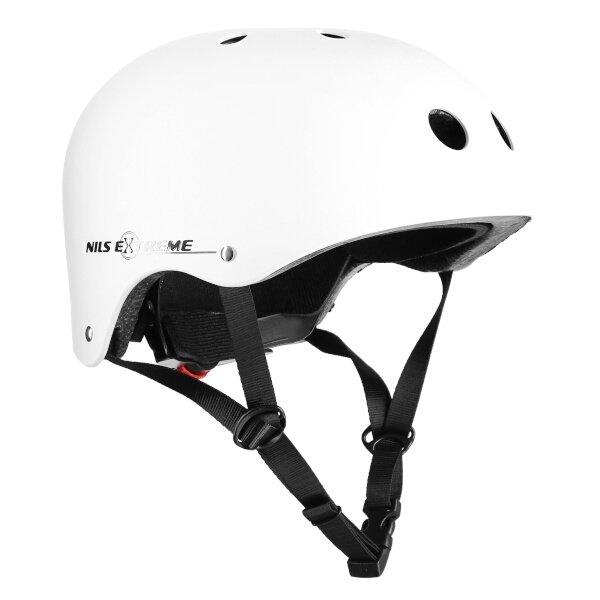 Bílá cyklistická helma