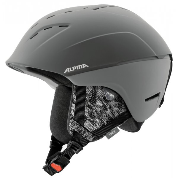 Šedá dámská lyžařská helma Alpina