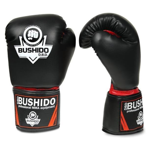 Černé boxerské rukavice Bushido - velikost 6 oz