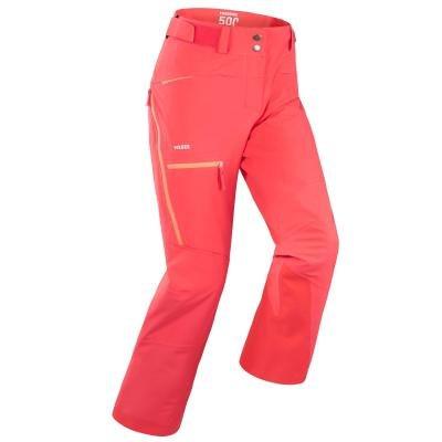 Růžové dámské lyžařské kalhoty Wed'ze - velikost 46