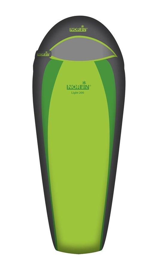 Zelený spací pytel Norfin - délka 220 cm