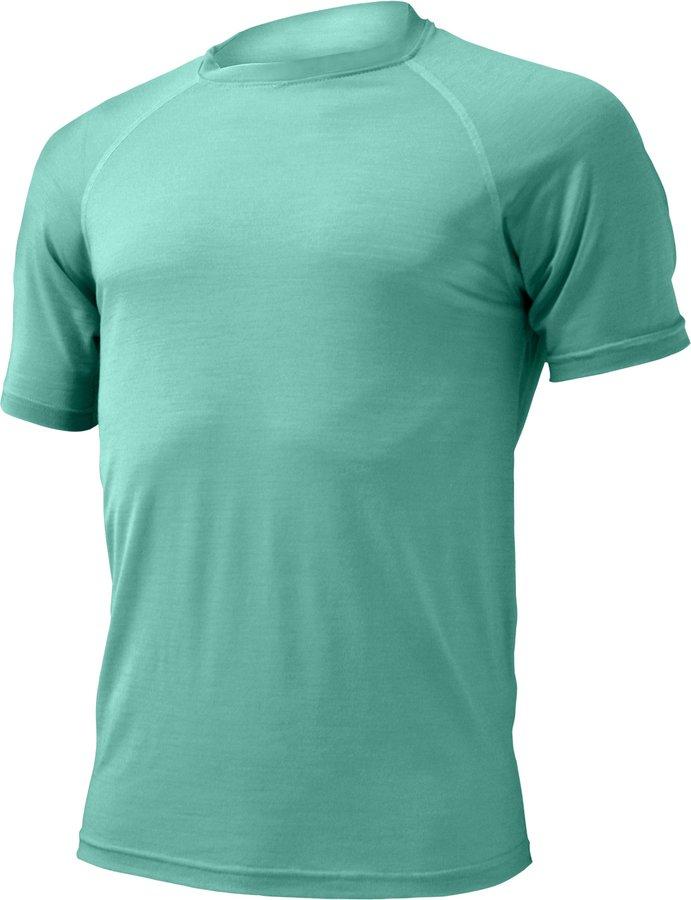 Tyrkysové pánské tričko s krátkým rukávem Lasting - velikost 3XL