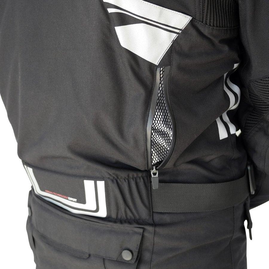 Černá motorkářská bunda Touring New, Helite - velikost L