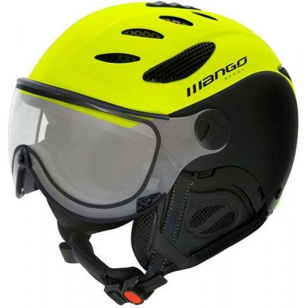 Černo-žlutá lyžařská helma Mango - velikost 62-64 cm