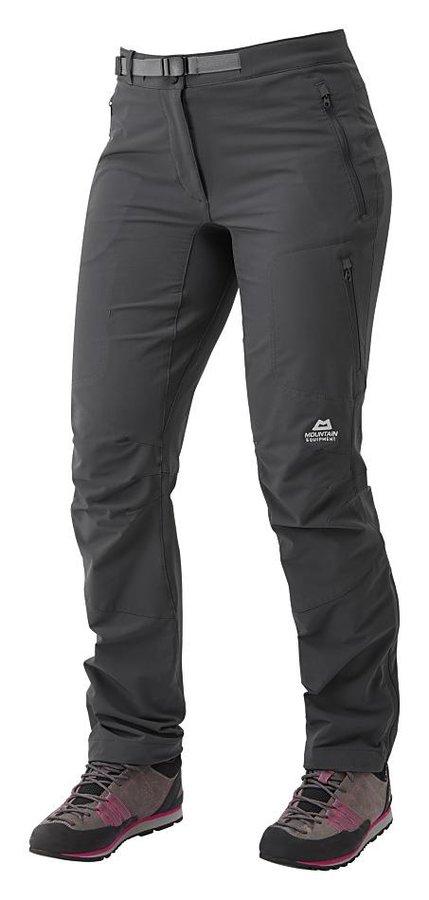 Černé softshellové dámské turistické kalhoty Mountain Equipment