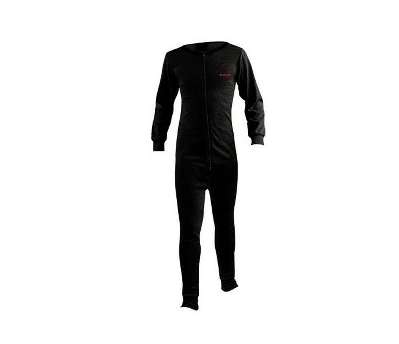 Černé dvoudílné hokejové ribano - senior CCM - velikost S