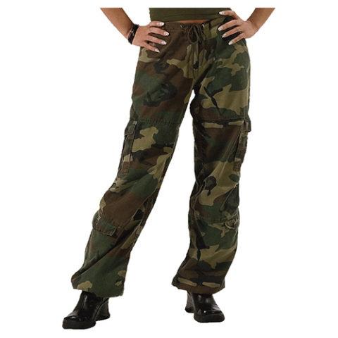 Kalhoty - Kalhoty dámské VINTAGE WOODLAND