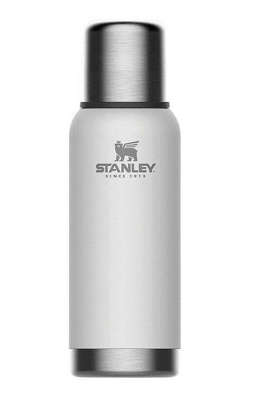 Bílá termoska na pití Stanley - objem 0,73 l