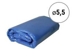 Modrá solární plachta na bazén - průměr 550 cm