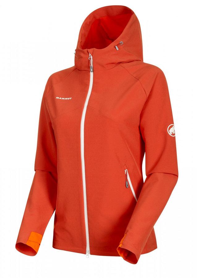 Oranžová dámská bunda Mammut