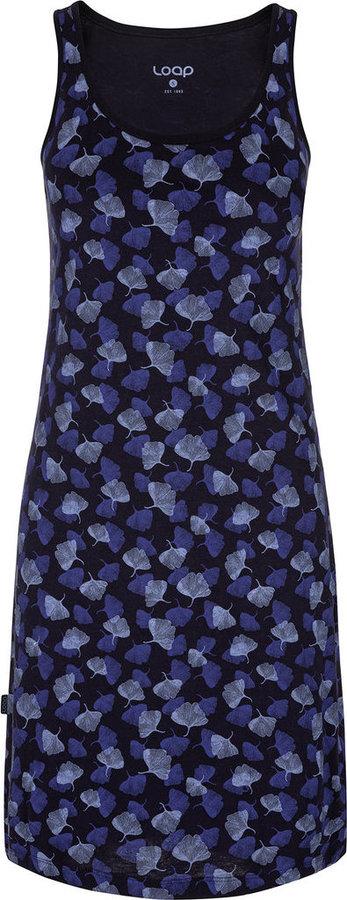 Modré dámské šaty Loap - velikost M