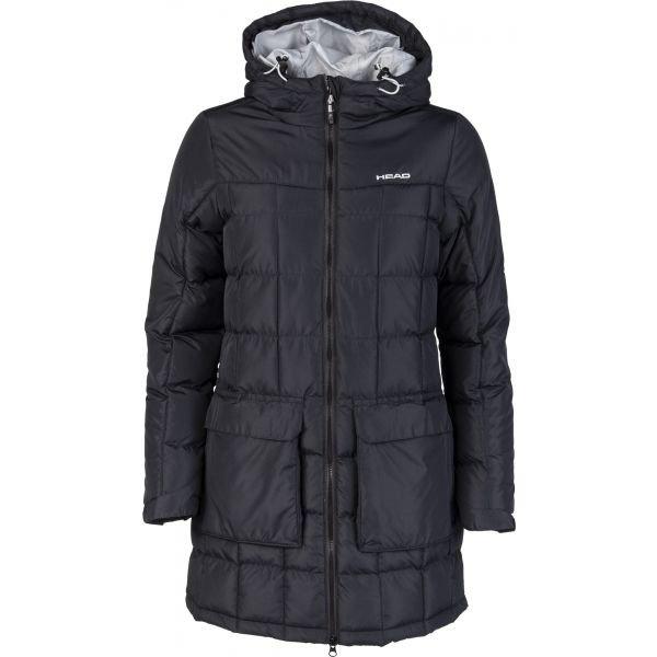 Černý zimní dámský kabát Head - velikost XL