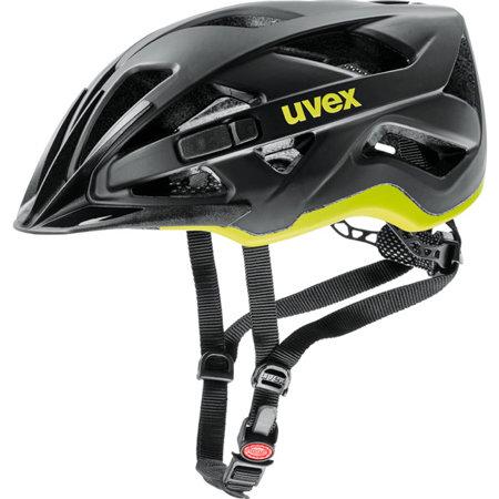 Černo-žlutá unisex cyklistická helma Uvex