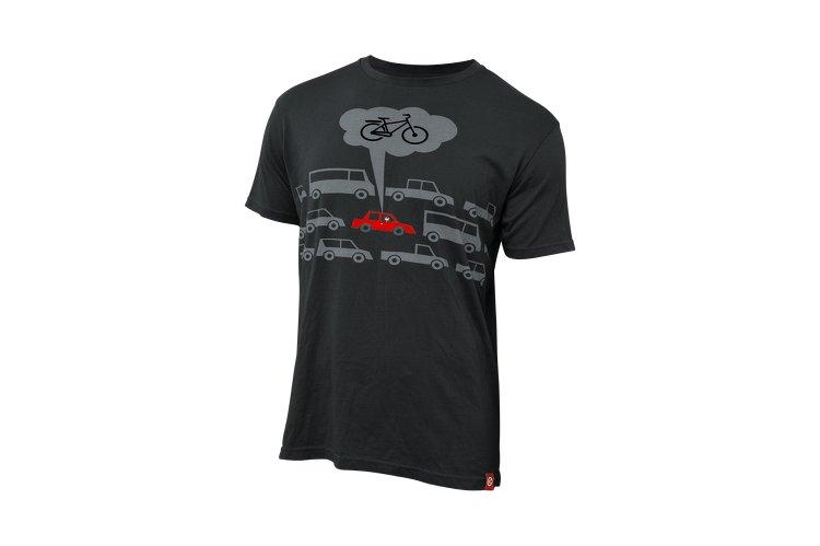 Černé cyklistické tričko s krátkým rukávem Kellys - velikost L