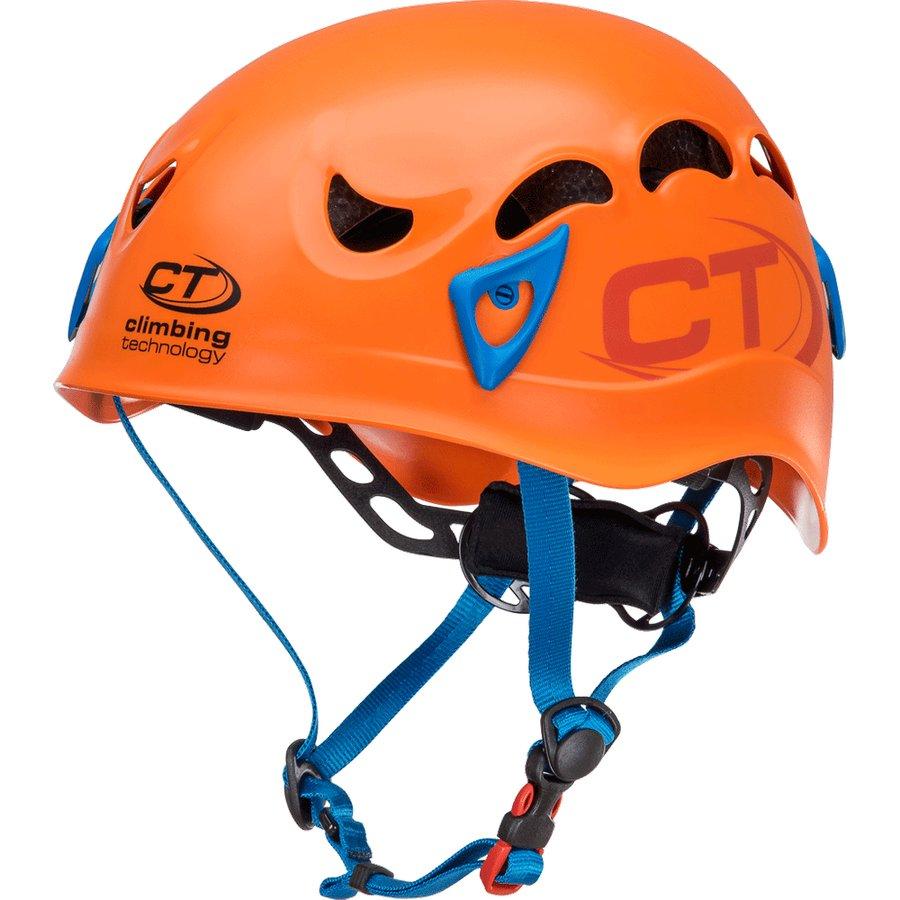 Oranžová horolezecká helma Climbing Technology - velikost 50-61 cm