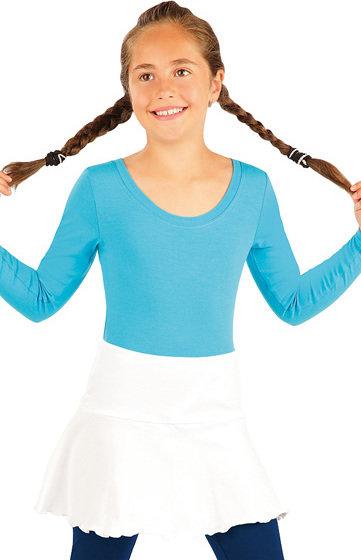 Bílá dívčí sukně Litex - velikost 128