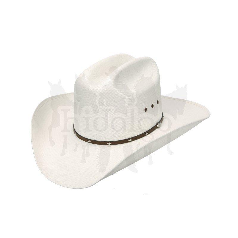 Bílý unisex jezdecký klobouk Wrangler