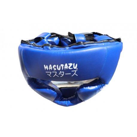Modrá boxerská přilba MASUTAZU - velikost L