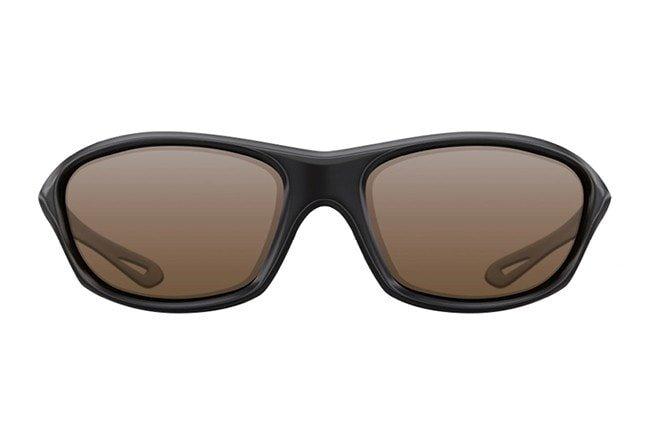 Sluneční brýle - Korda Sluneční brýle Wraps Sunglasses Black/Brown