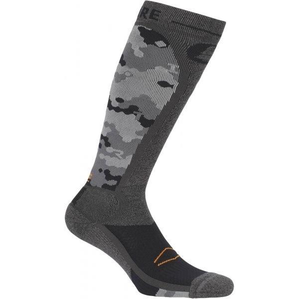 Šedé lyžařské ponožky Picture