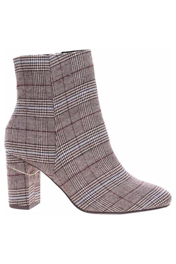 Šedé dámské zimní boty Tamaris