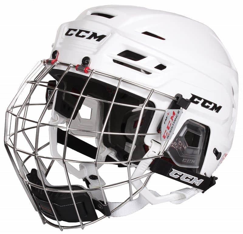 Hokejová helma - Resistance Combo hokejová helma s mřížkou barva: černá;velikost oblečení: S