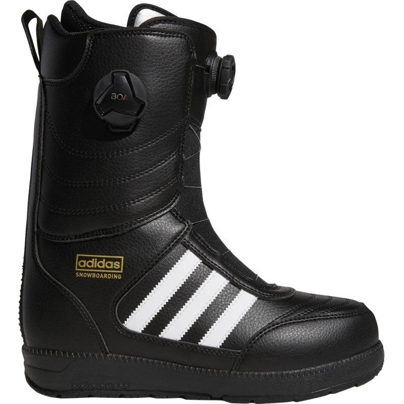 Černé pánské boty na snowboard Adidas