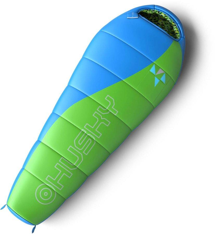 Zelený spací pytel Husky - délka 170 cm