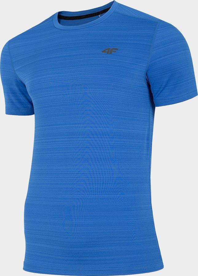 Modré pánské funkční tričko s krátkým rukávem 4F - velikost M