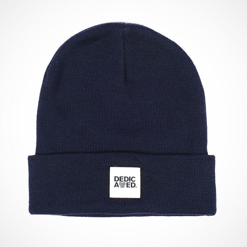 Modrá zimní čepice Dedicated - univerzální velikost