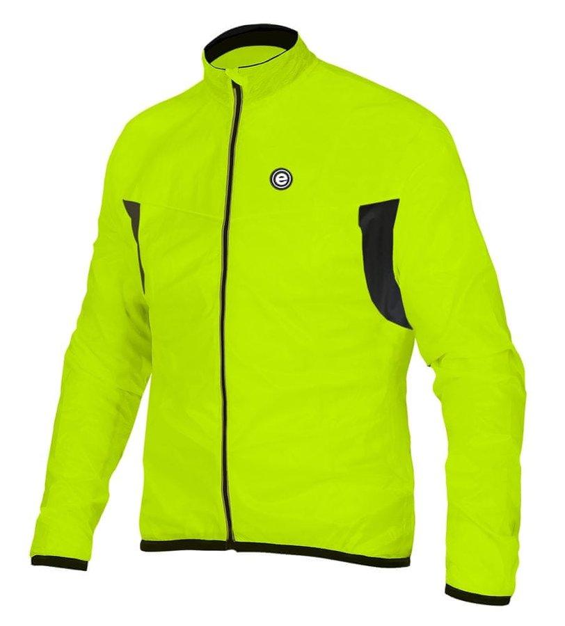 Žlutá pánská cyklistická bunda Etape