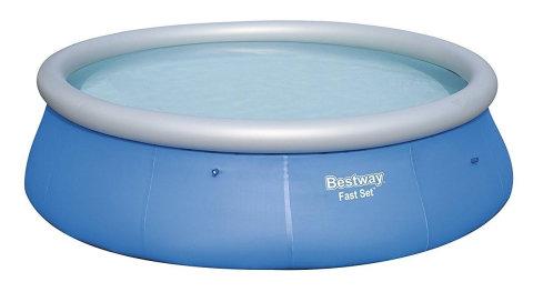 Nadzemní nafukovací kruhový bazén Bestway - průměr 396 cm a výška 84 cm