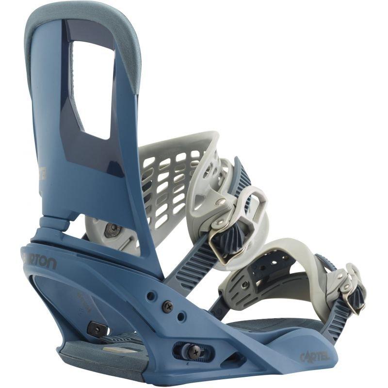 Modré vázání na snowboard Burton