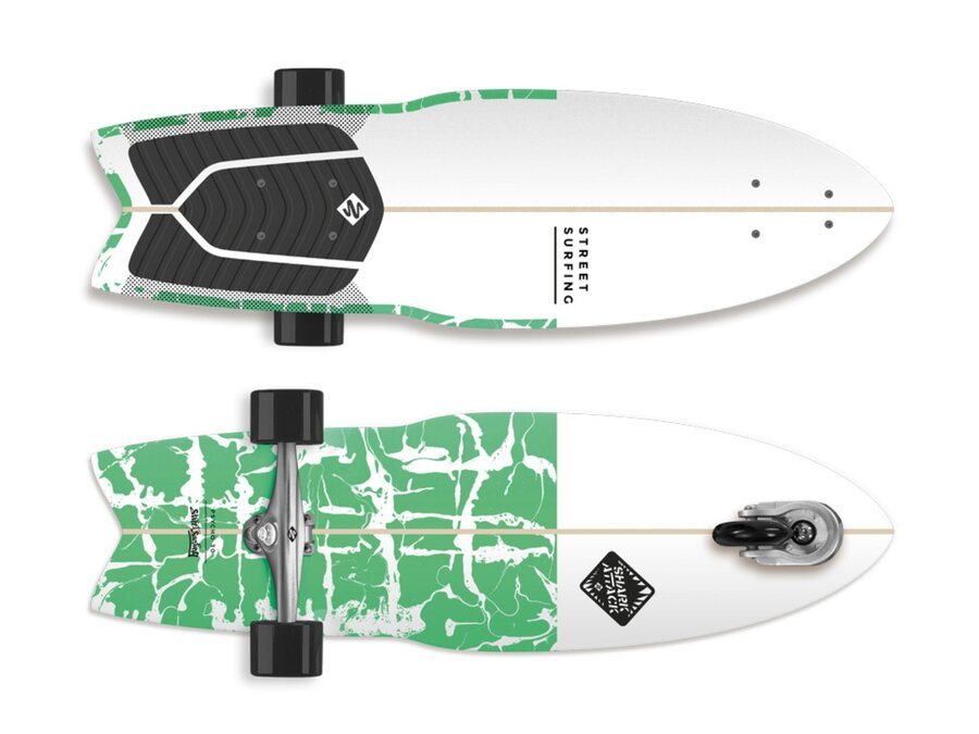 Longboard Street Surfing - nosnost 100 kg