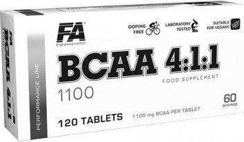 BCAA - BCAA 4:1:1 1100 - Fitness Authority 120 tbl