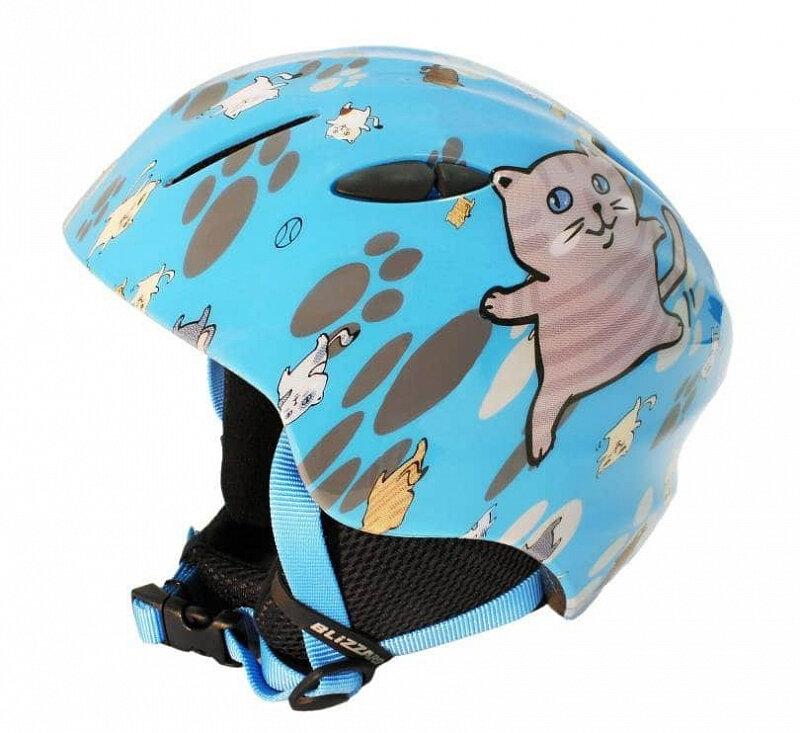 Modrá lyžařská helma Blizzard - velikost 48-52 cm