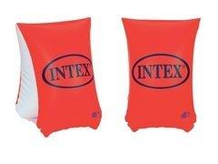 Červené dětské nafukovací plavecké rukávky INTEX