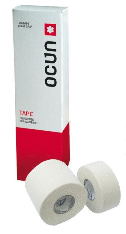 Bílá tejpovací páska Ocún - délka 10 m a šířka 2,5 cm
