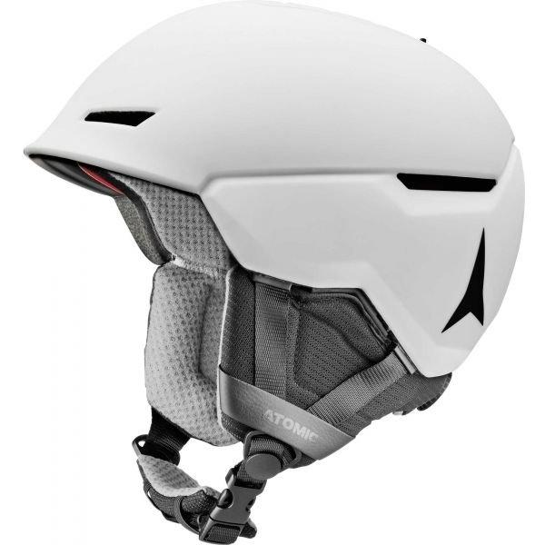Bílá lyžařská helma Atomic - velikost 51-55 cm
