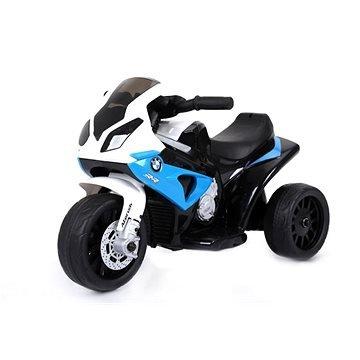 Modrá dětská elektrická tříkolka Beneo