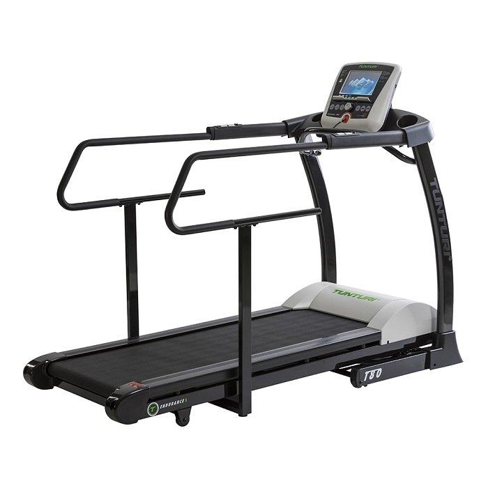 Běžecký pás T80 Treadmill Endurance REHA, Tunturi - nosnost 150 kg