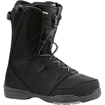 Černé pánské boty na snowboard Nitro