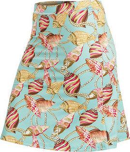 Modro-růžová dámská sukně Litex - velikost 36