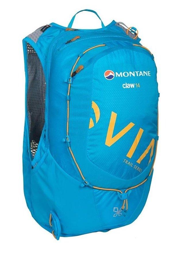 Modrý běžecký batoh Via Claw, Montane - objem 14 l