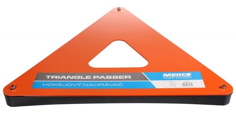 Oranžový hokejový nahrávač Merco