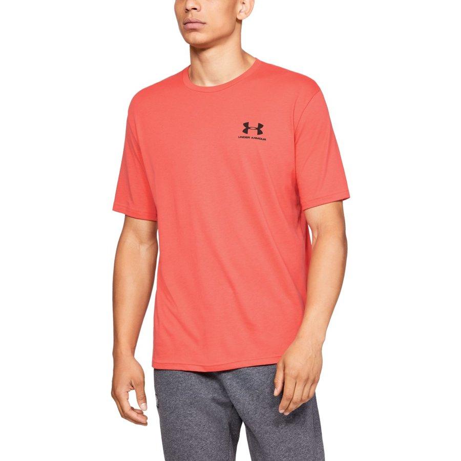 Oranžové pánské tričko s krátkým rukávem Under Armour