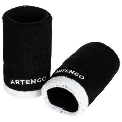 Černé tenisové potítko Artengo - 2 ks