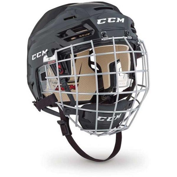 Černá hokejová helma CCM