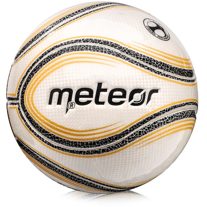 Bílý futsalový míč Innovation, Meteor