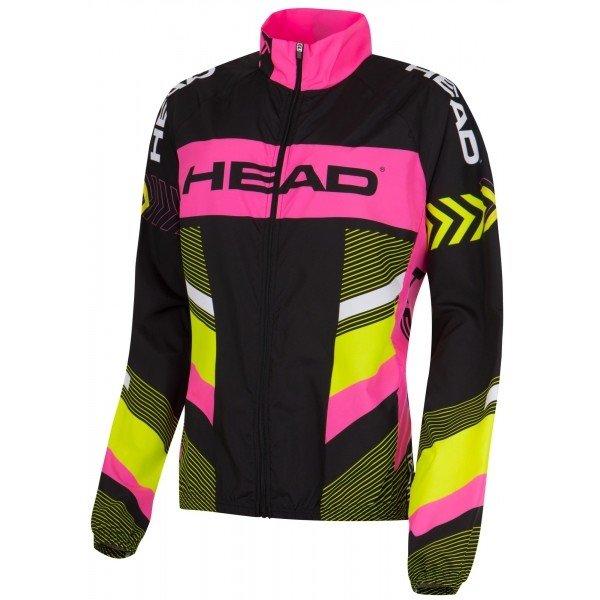 Různobarevná dámská cyklistická bunda Head